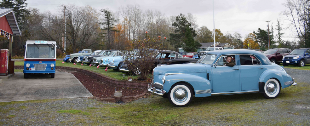 Gary Taylor at Bell's Studebaker Museum